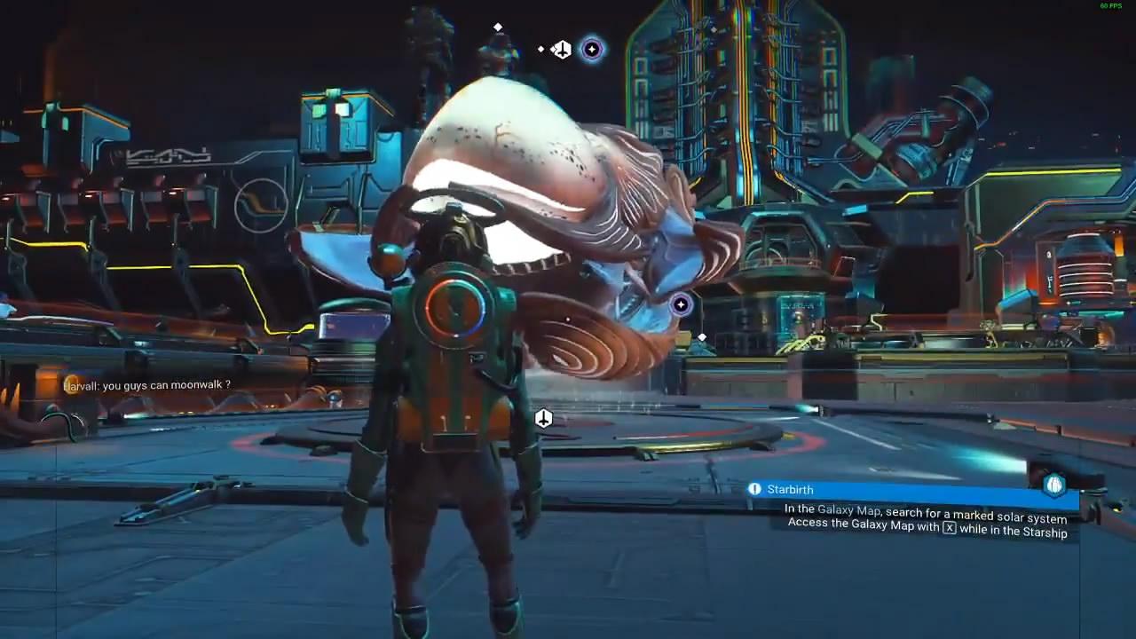 《无人深空》实验性新补丁添加生物飞船 怪异有趣