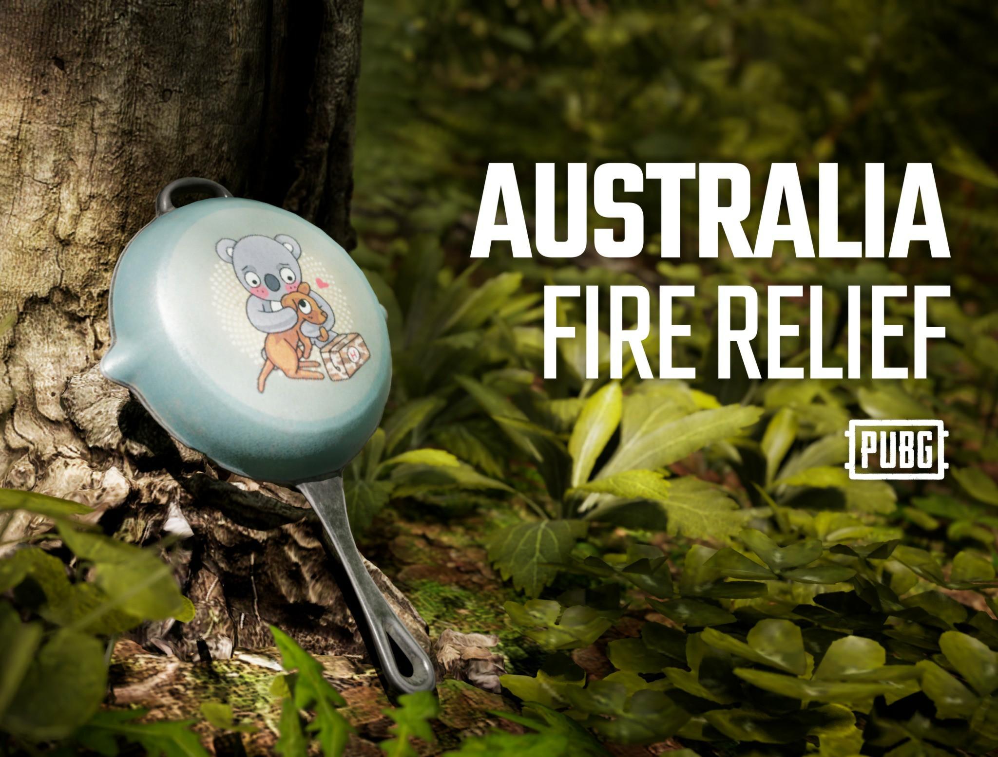 《绝地求生》推出袋鼠考拉平底锅 所得收入捐赠澳洲