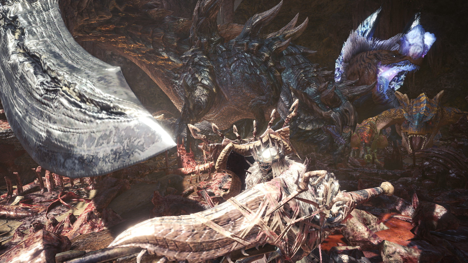 PS4《怪猎世界:冰原》活动任务预告 挑战强力怪物