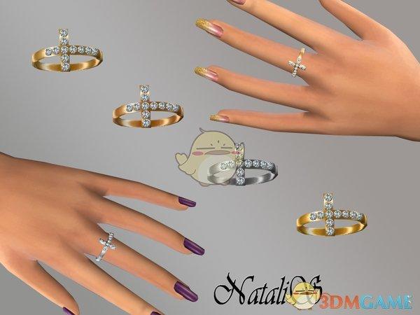 《模拟人生4》十字架钻石戒指MOD