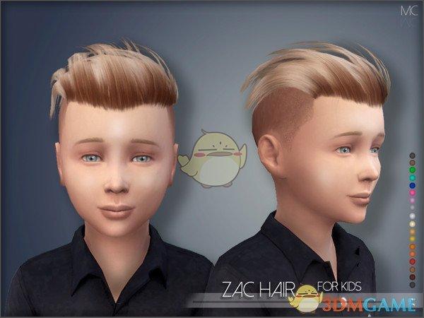 《模拟人生4》男孩帅气发型MOD