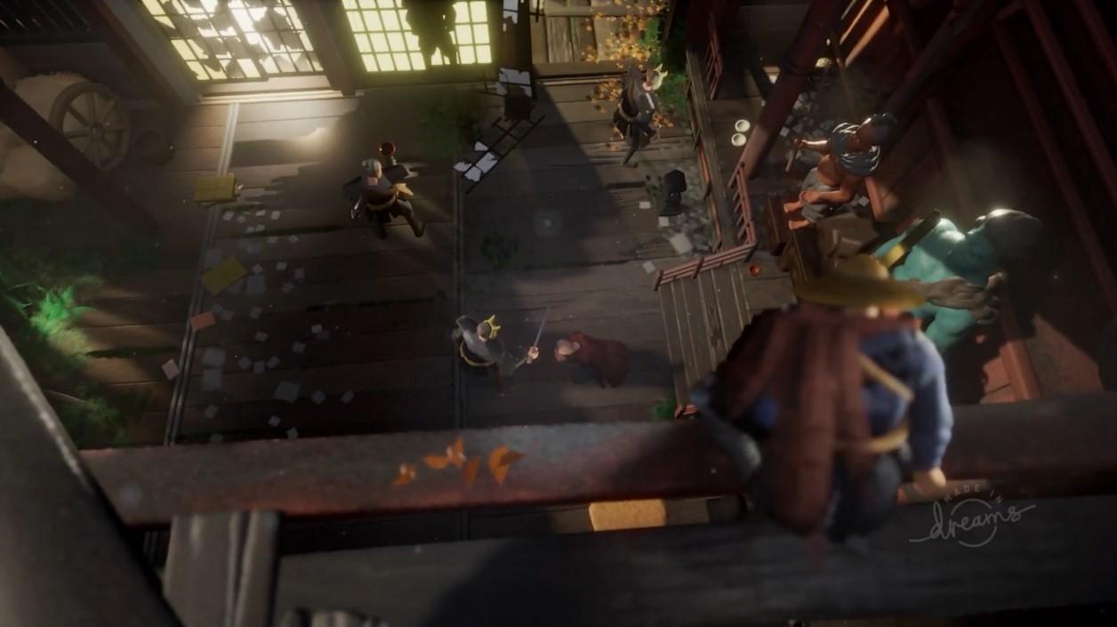 逼真!玩家用《梦境》还原《对马岛之鬼》宣传片