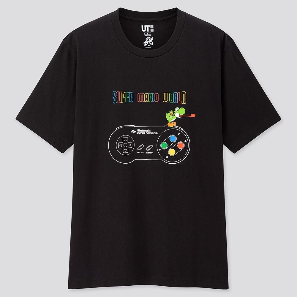 优衣库X超级马里奥联动T恤公开 多款精美设计4月发售