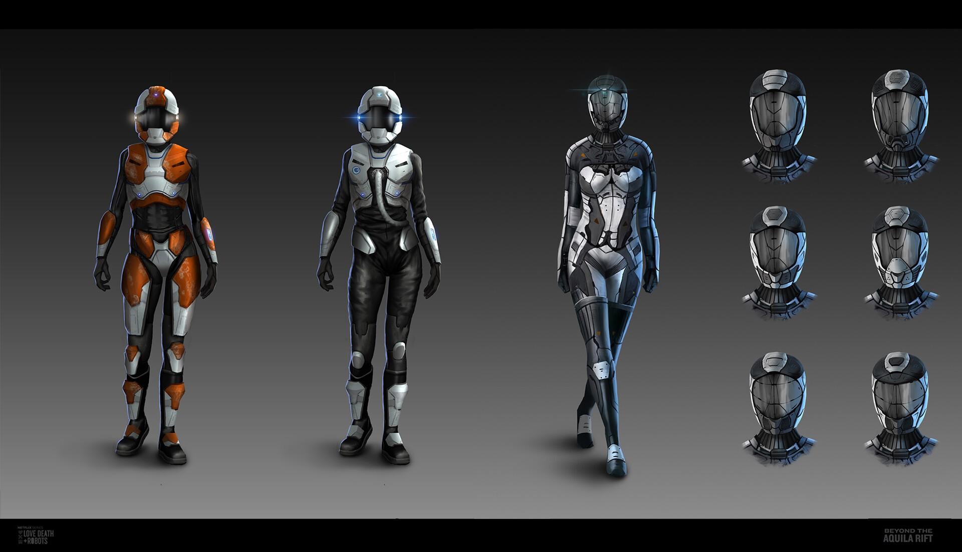 《爱,死亡和机器人》第7集概念图 视觉效果震撼