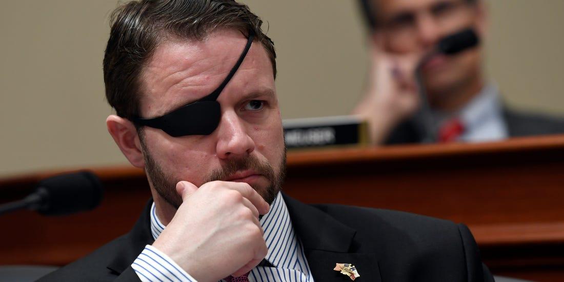 玩家热议美国一位独眼众议院议员 惊呼酷冷斯内克现世