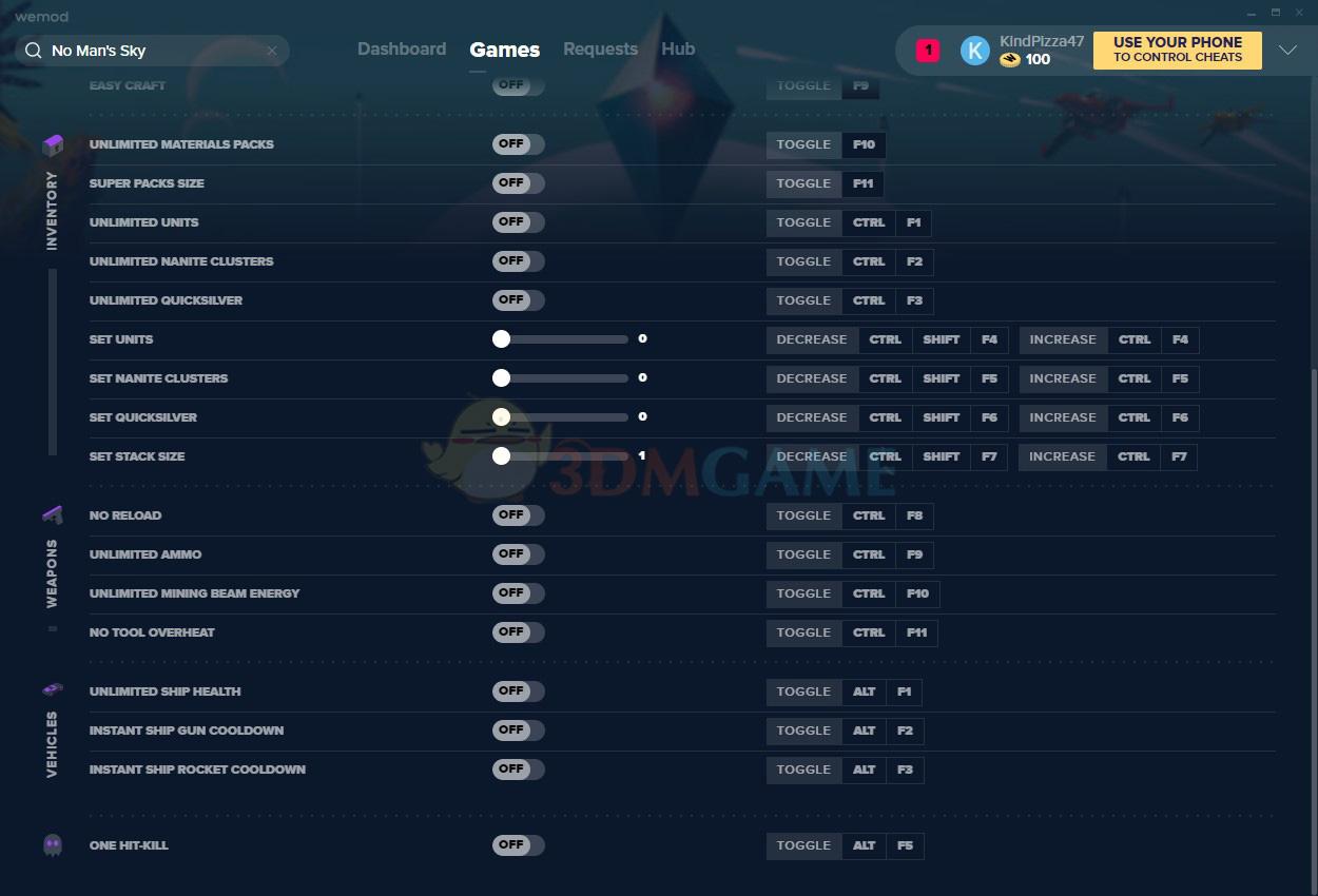 《无人深空》v3.1二十六项修改器[MrAntiFun][Steam]