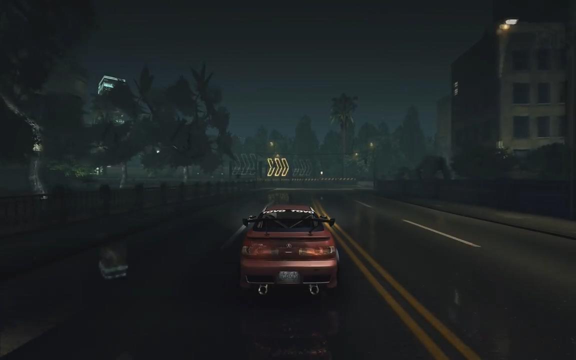 玩家自制MOD 为《极品飞车:地下狂飙》加上了光追