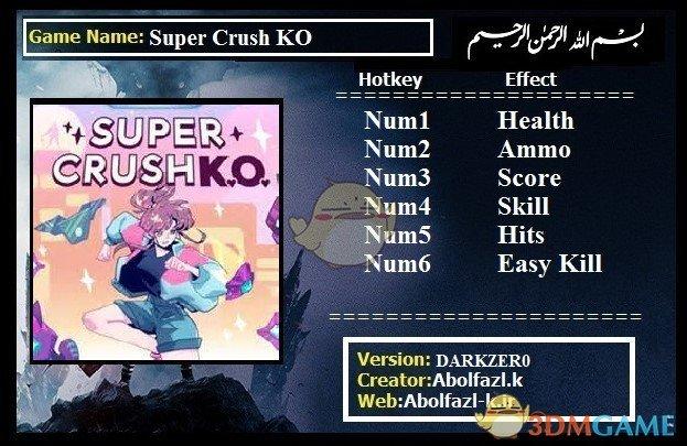 《超级碾压KO》v1.0六项修改器[Abolfazl]