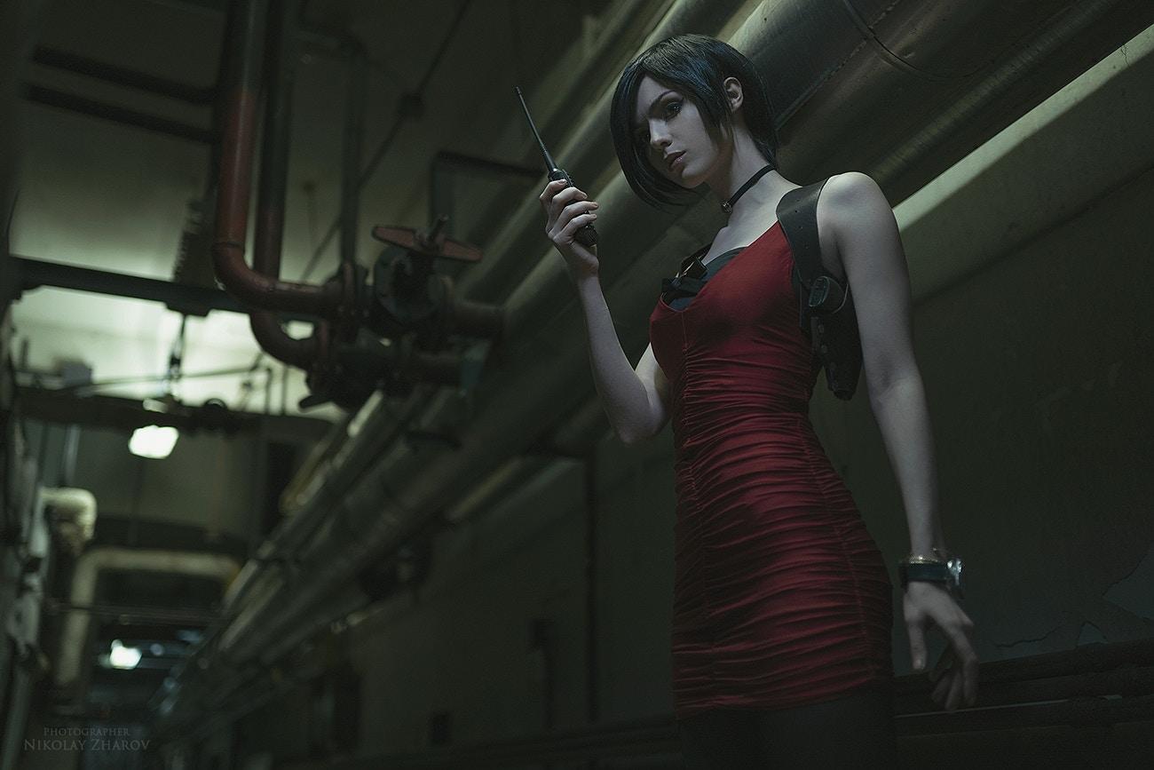 俄美女Cos《生化2重制版》 艾达王惨被丧尸推倒