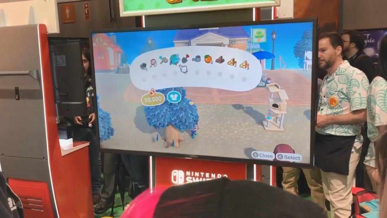 《集合啦!动物森友会  》PAX East现场试玩 展现多人玩法