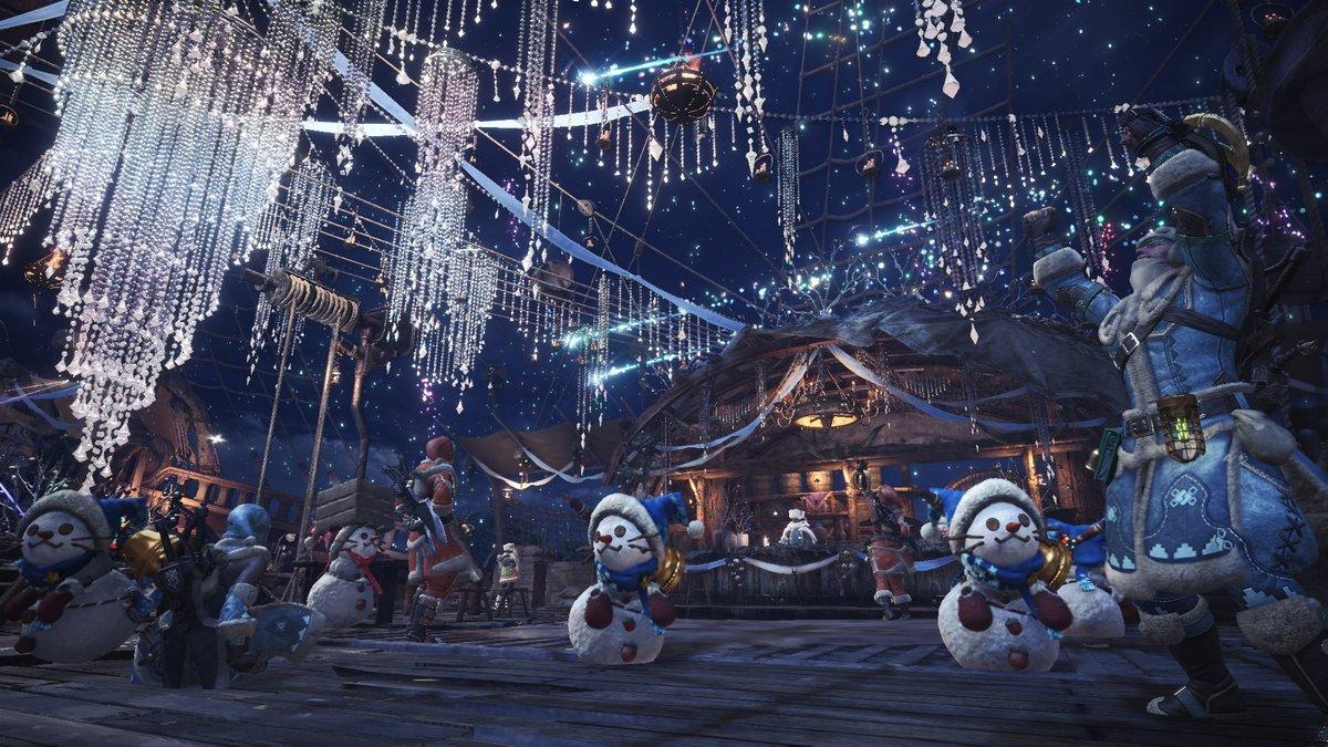 《怪物猎人世界:冰原》PC版活动 闪耀之宴万福之宴
