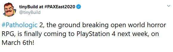 恐怖游戏《瘟疫2》将登陆PS4平台  3月6日上市