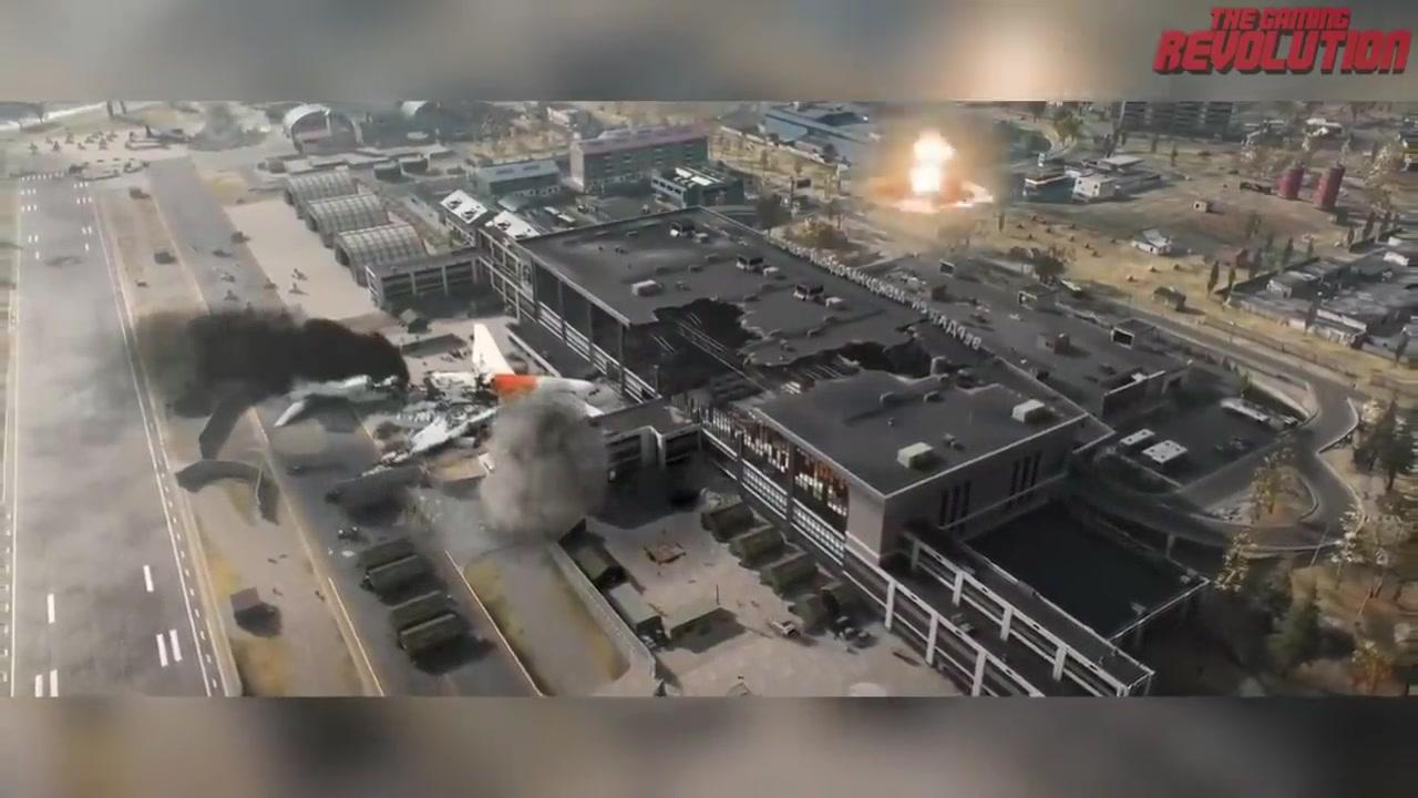 """《使命召唤16》大逃杀模式""""战区""""首段实机视频"""
