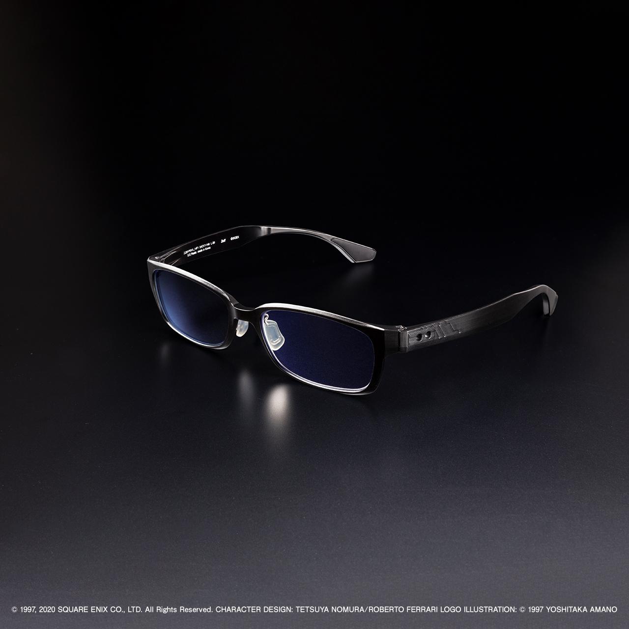《最终幻想7:重制版》联动眼镜预购开启 镜腿有特点