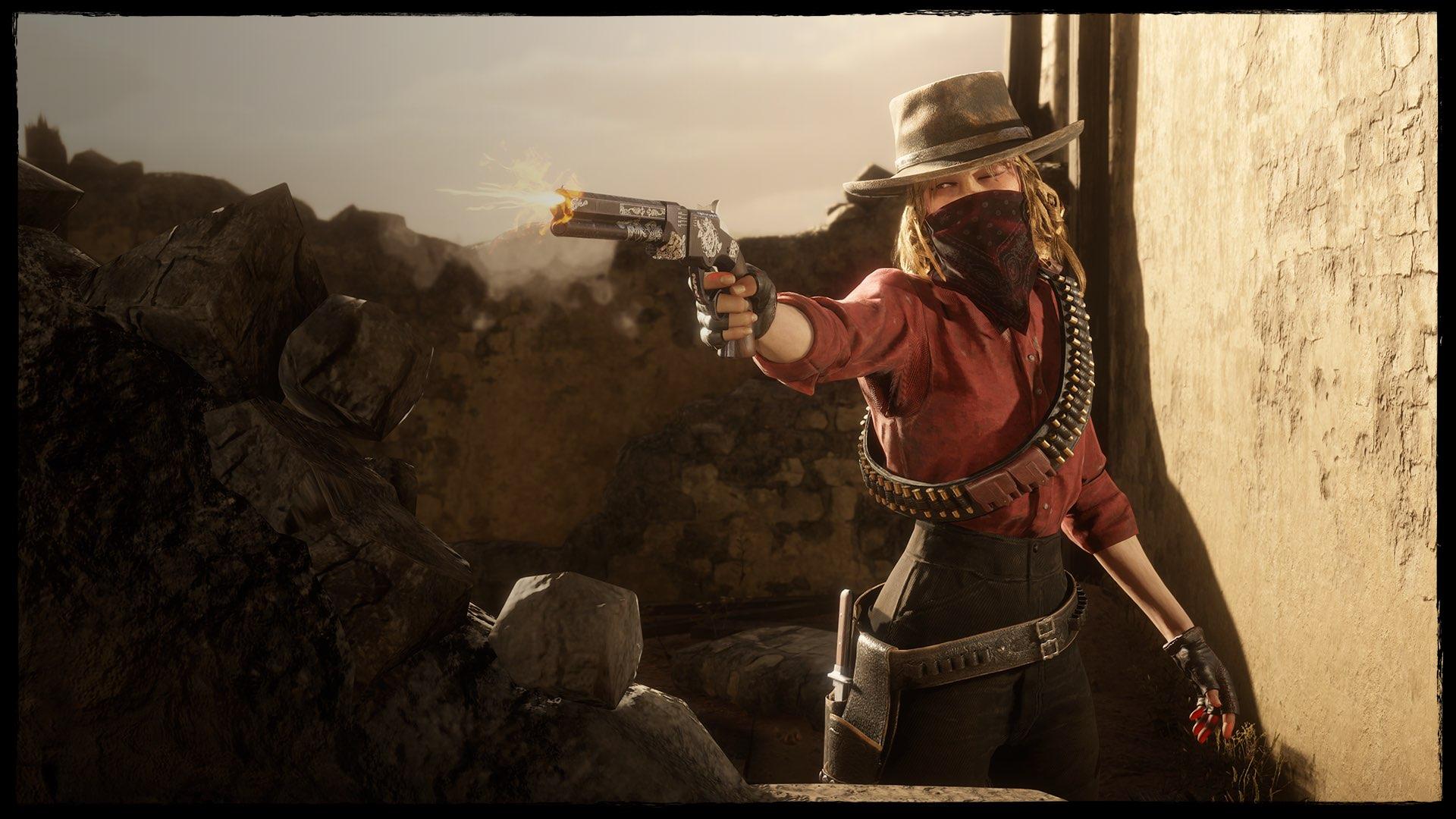 《荒野大镖客2》在线模式更新 日常挑战送藏宝图