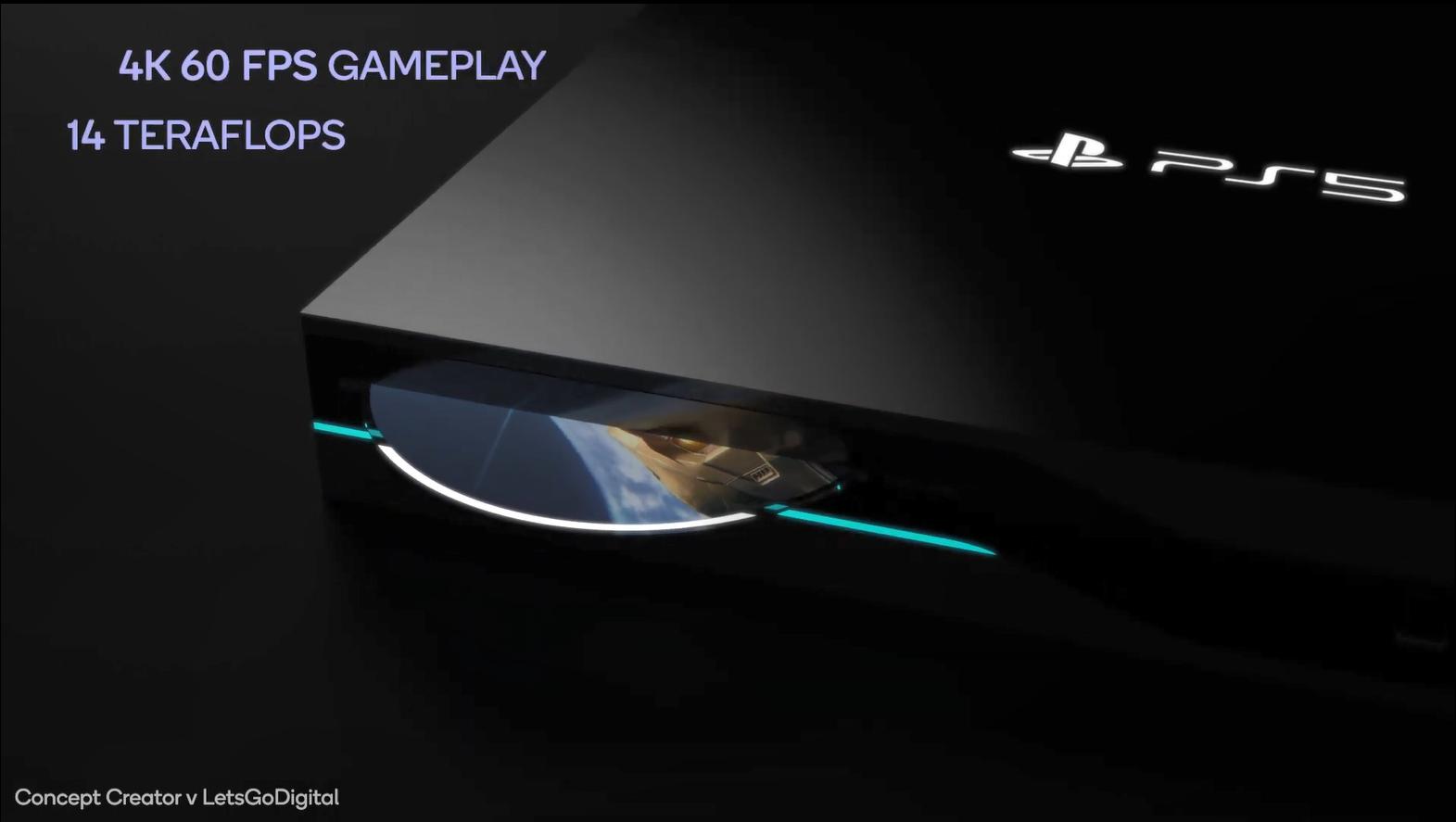 官方没料粉丝来造!大神PS5概念设计渲染视频欣赏