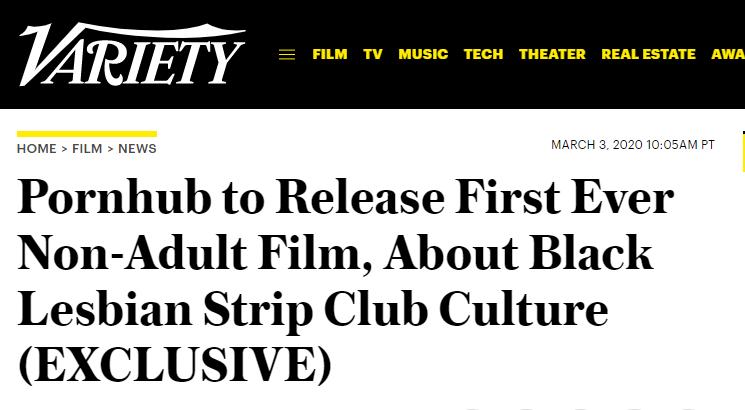 P站将首度上映非成人电影 目标为更多艺术表达提供平台