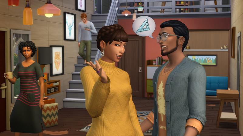 《模拟人生4:温馨小居》DLC扩展包内容 温馨小居全方位试玩解析视频