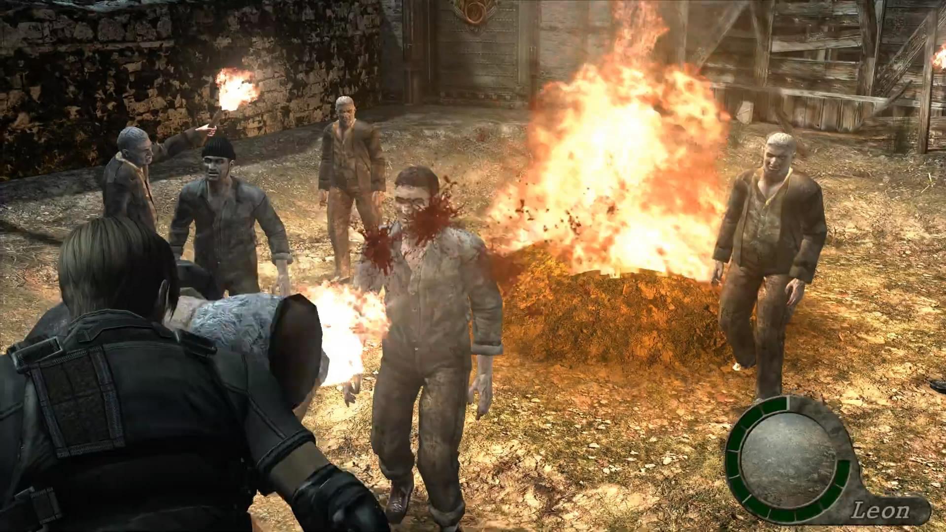 民间《生化危机4》HD版即将完成 游戏画面大进化