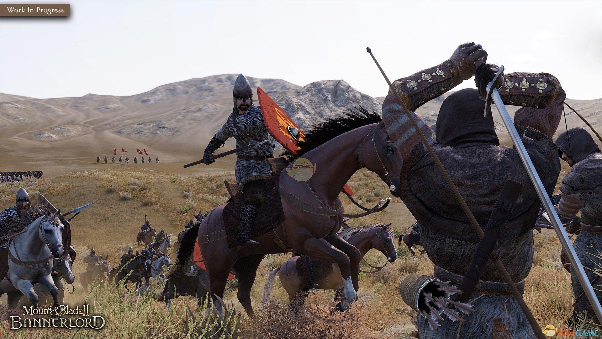 《骑马与砍杀2:霸主》骑兵冲阵系统介绍