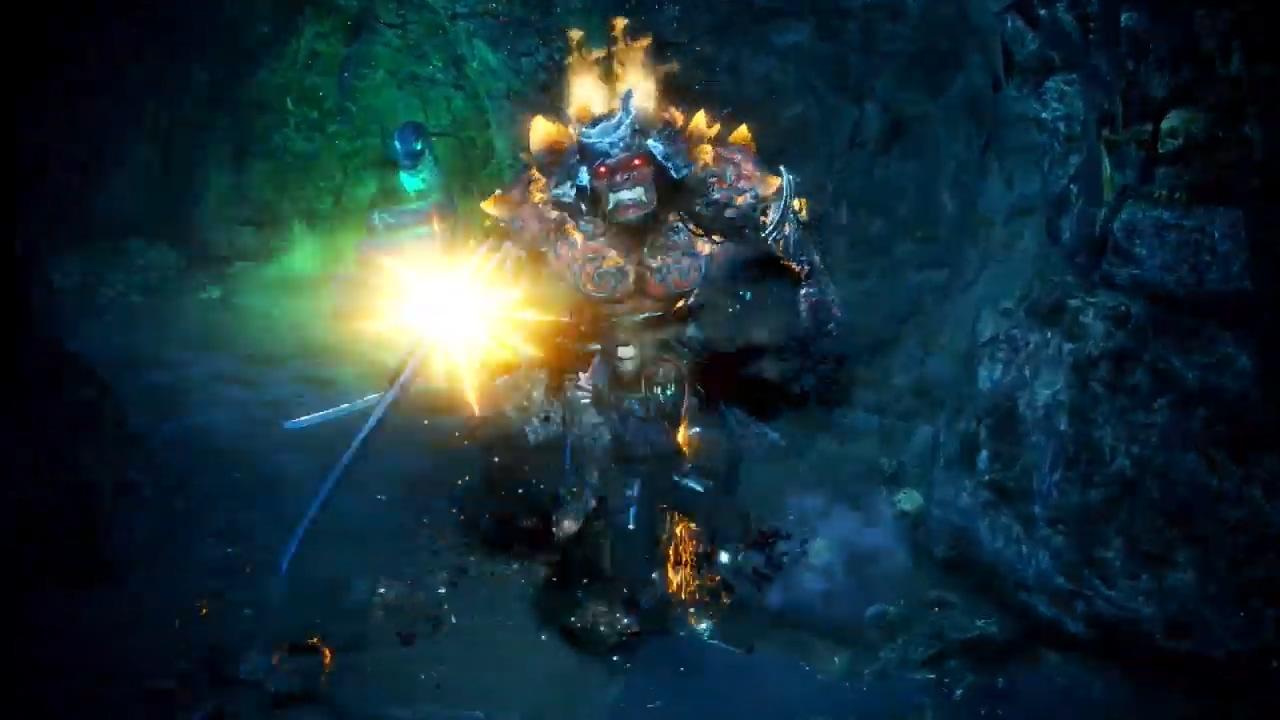 《仁王2》中文版发售宣传片 前作主角威廉出现