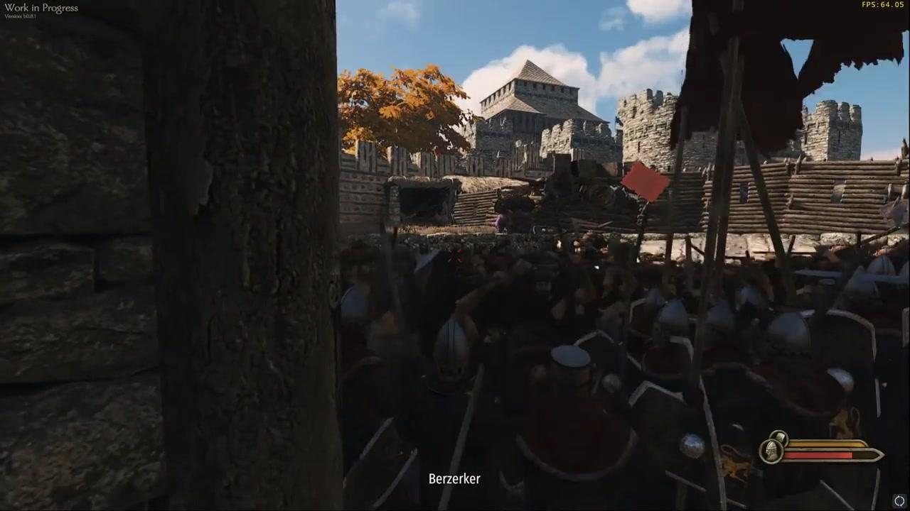 《骑马与砍杀2:领主》攻城战全新实机演示公布