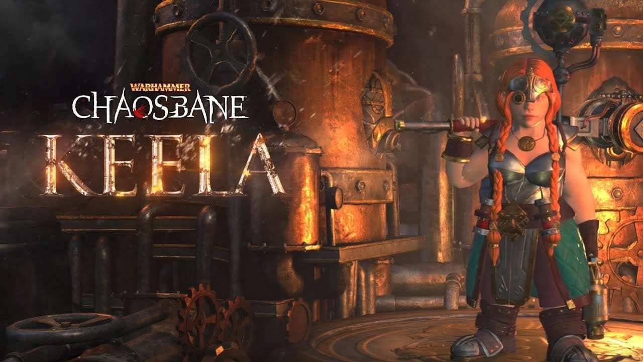 《战锤:混沌祸根》女矮人工匠免费发布 妹子超厉害