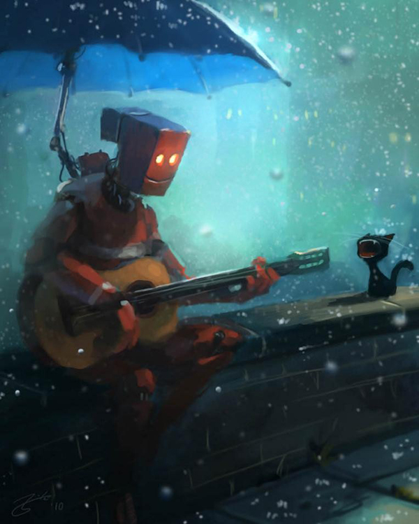 乐以道和 机器人塞斯加入《元能失控》小队