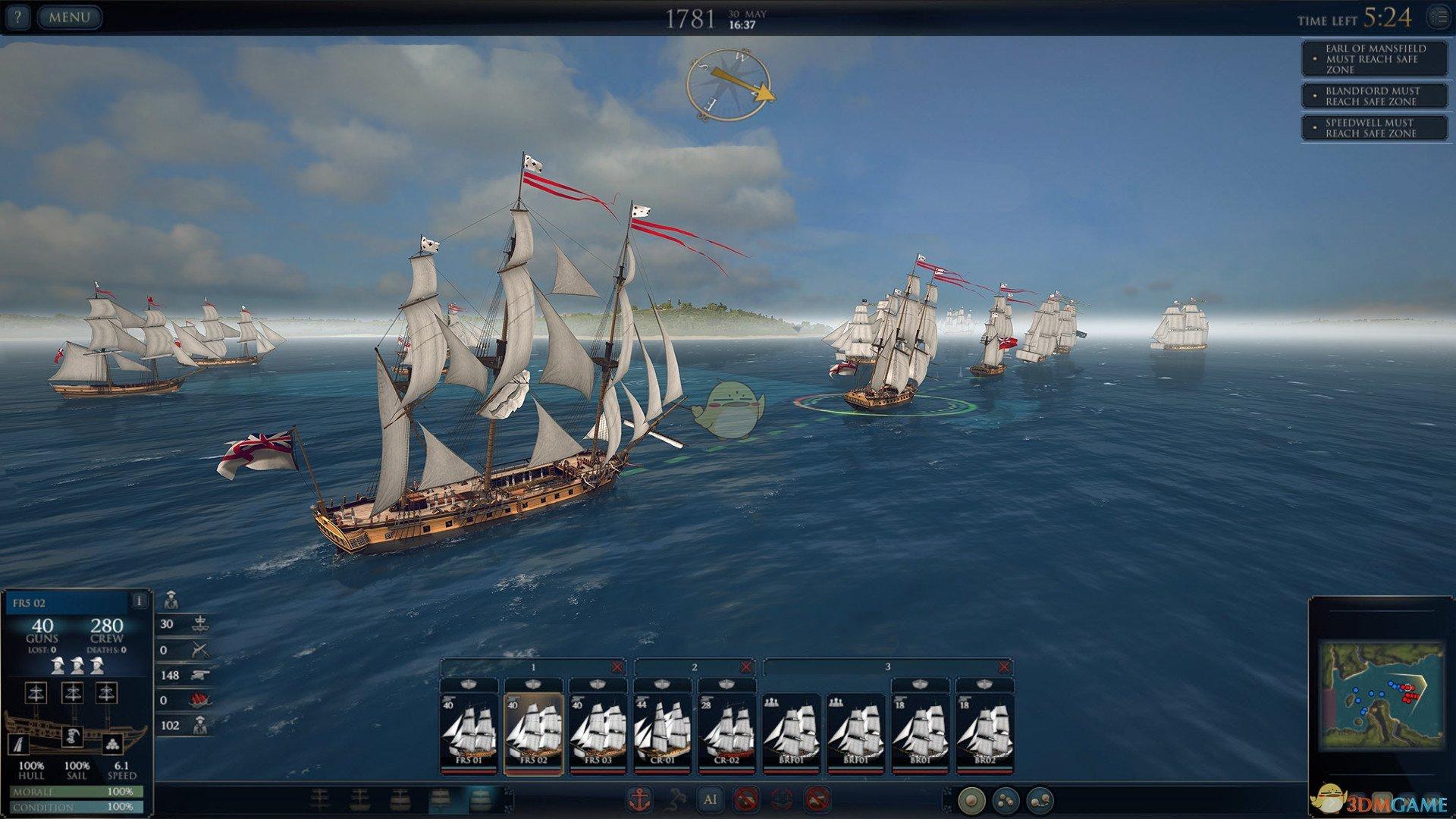 《终极海军上将:航海时代》葡萄弹机制问题介绍