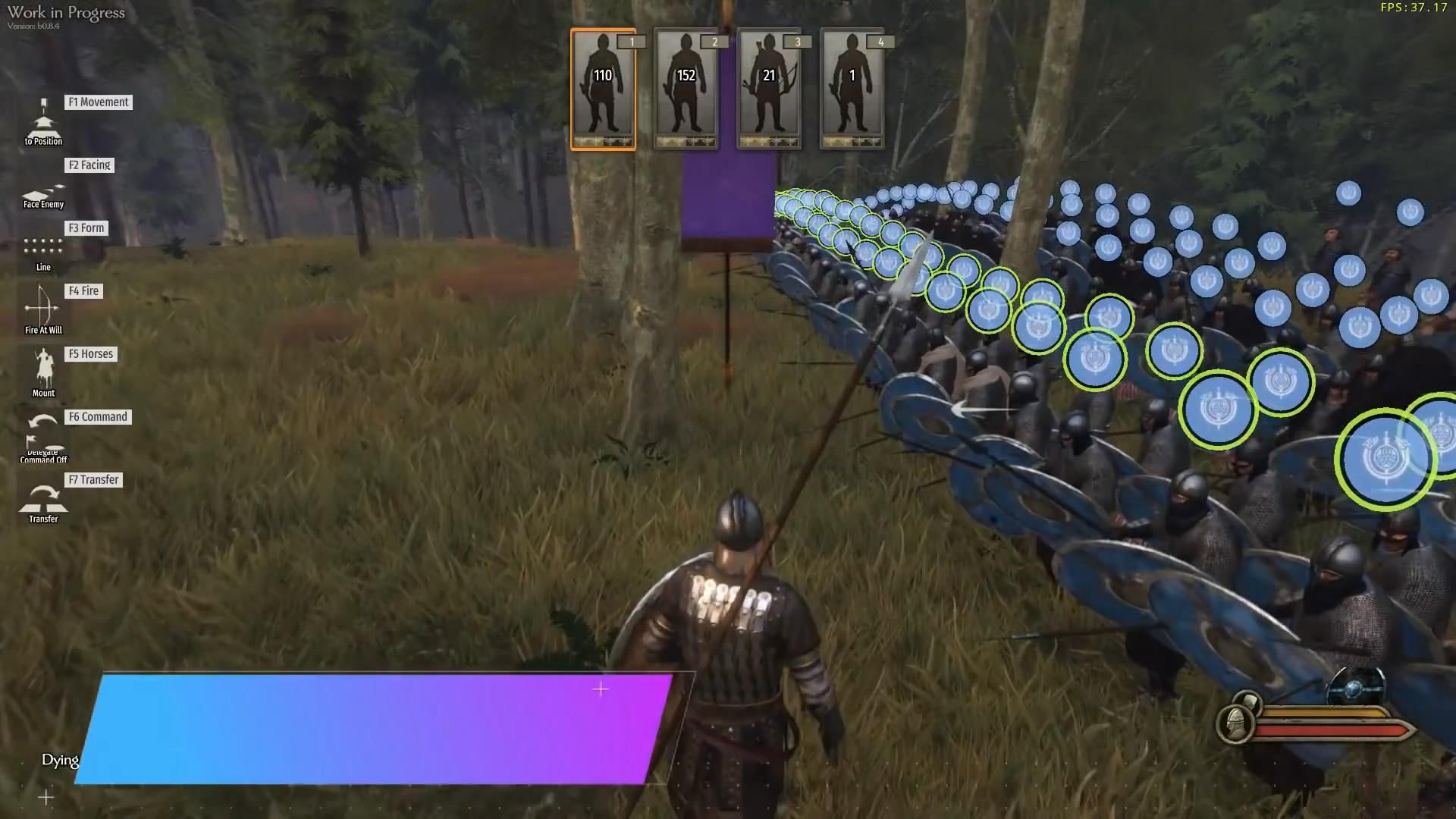 《骑马与砍杀2》新实机演示 长矛手对战弓骑兵