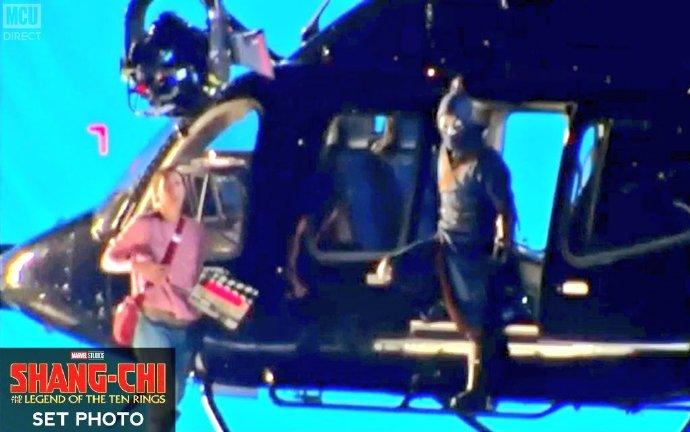 《尚气》首波片场照 直升机室外场景曝出