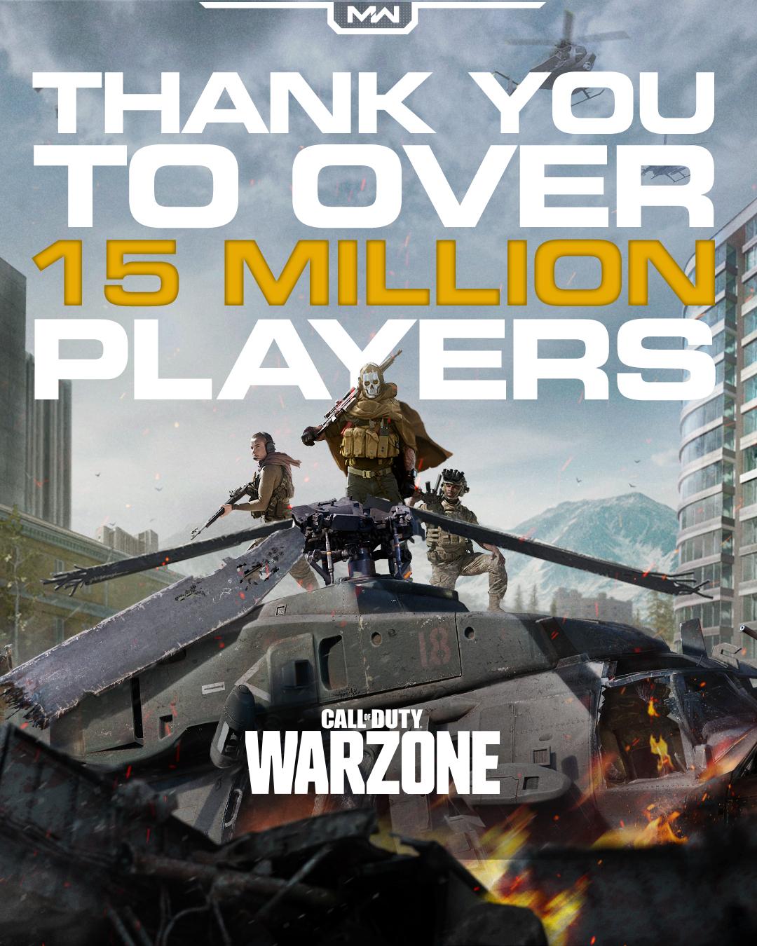 《使命召唤16》大逃杀继续火爆 全球玩家已超1500万