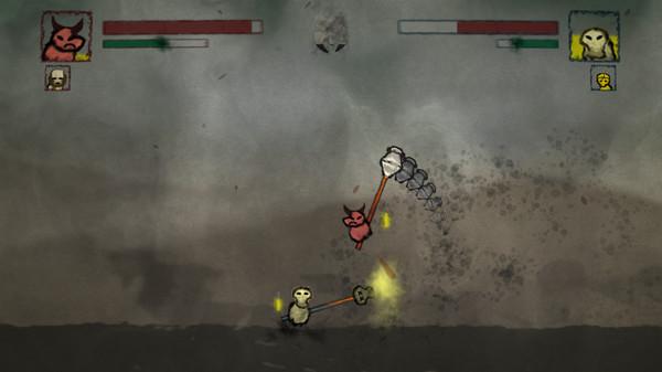 《丸霸无双》游戏背景介绍:抽象古风的对打游戏!