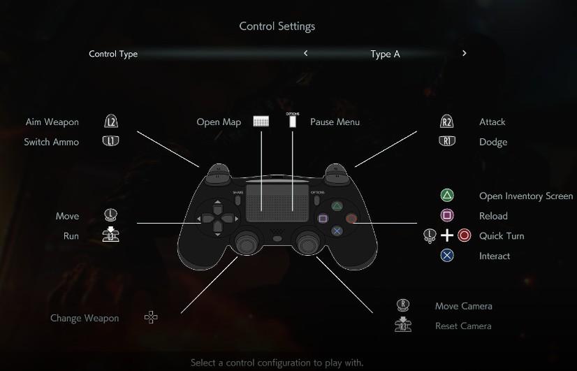 《生化危机3:重制版 试玩版》PS4按键提示补丁