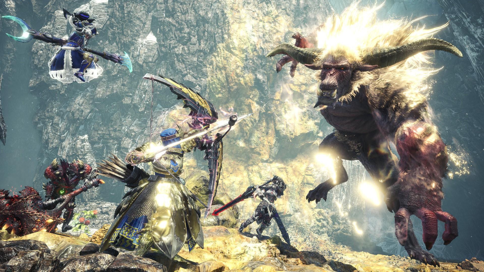 PS4《怪猎世界:冰原》第3弹免费更新上线 挑战新怪