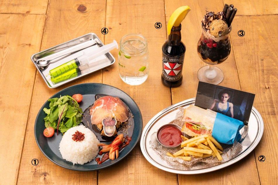 来份吉尔三明治 卡普空Cafe《生化3RE》菜单公开