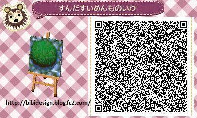 《集合啦!动物森友会》各类地砖二维码(QR码)分享