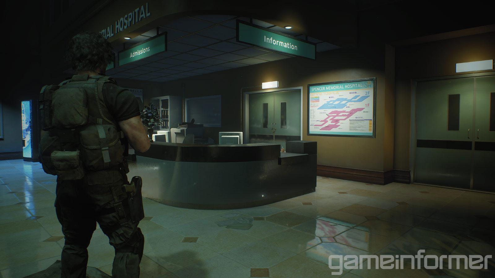 《生化危机3:重制版》全新截图 吉尔大战追踪者