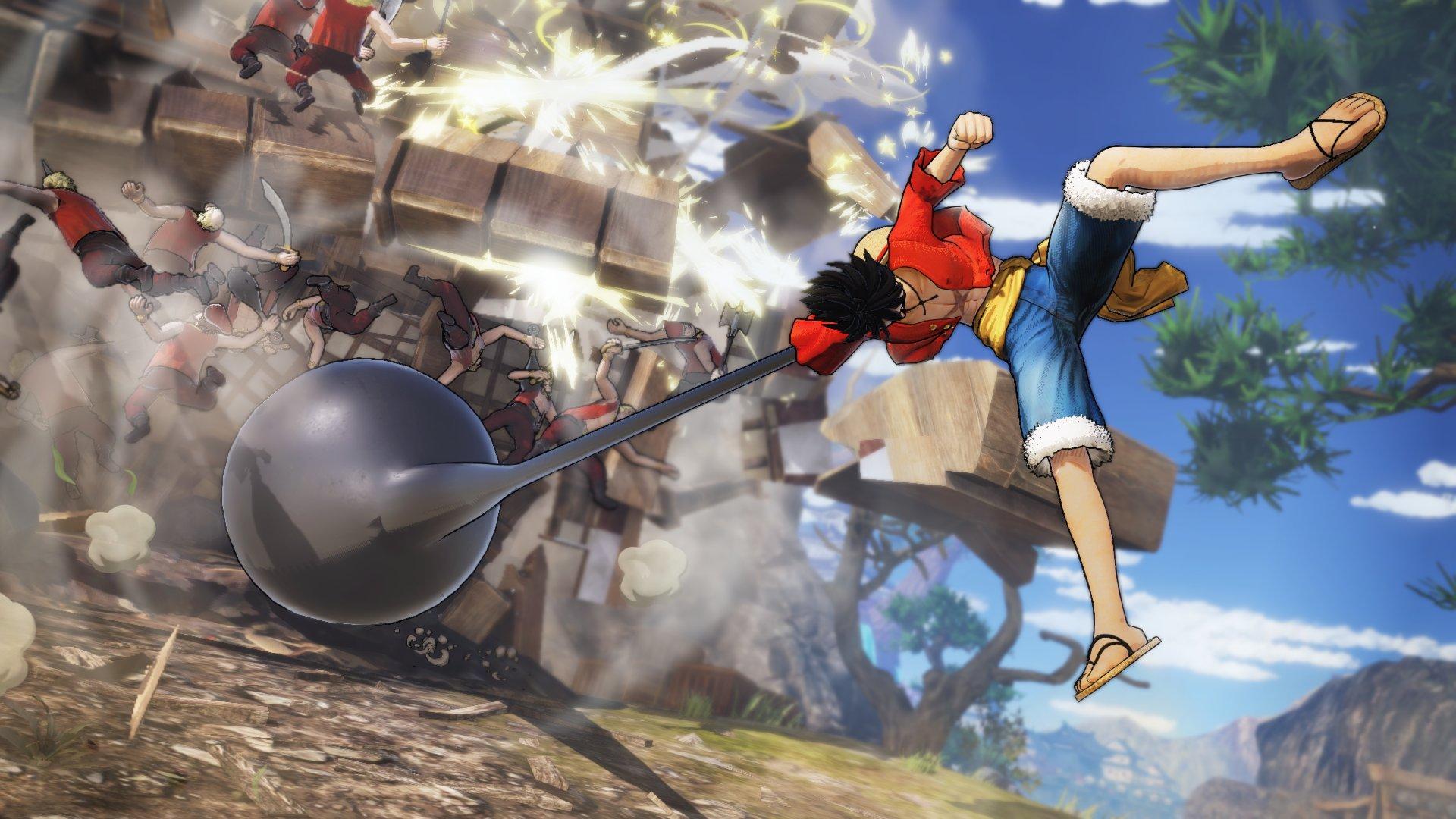 《海贼无双4》今日正式发售!IGN 10分钟演示公开