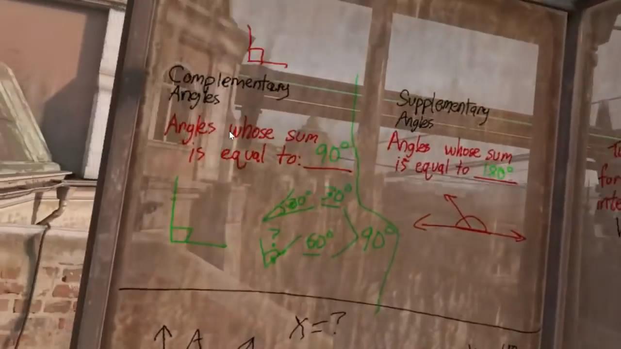 国外老师在《半条命:Alyx》里上数学课 非常有趣