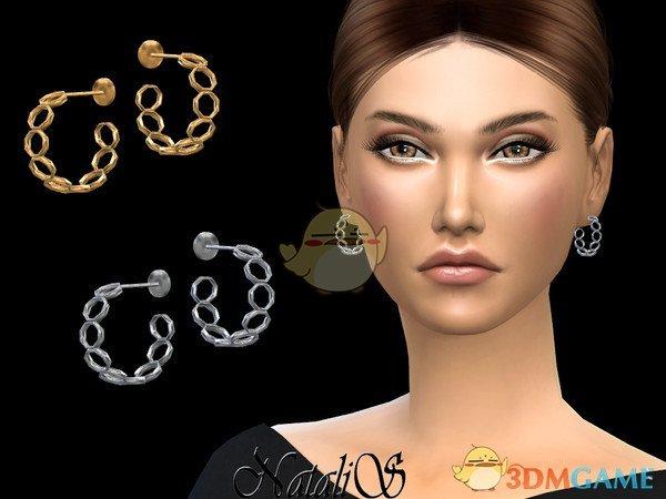 《模拟人生4》女性铁环耳环MOD