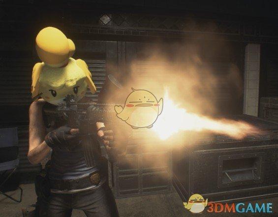 《生化危机3:重制版 试玩版》动森伊莎贝尔头套MOD