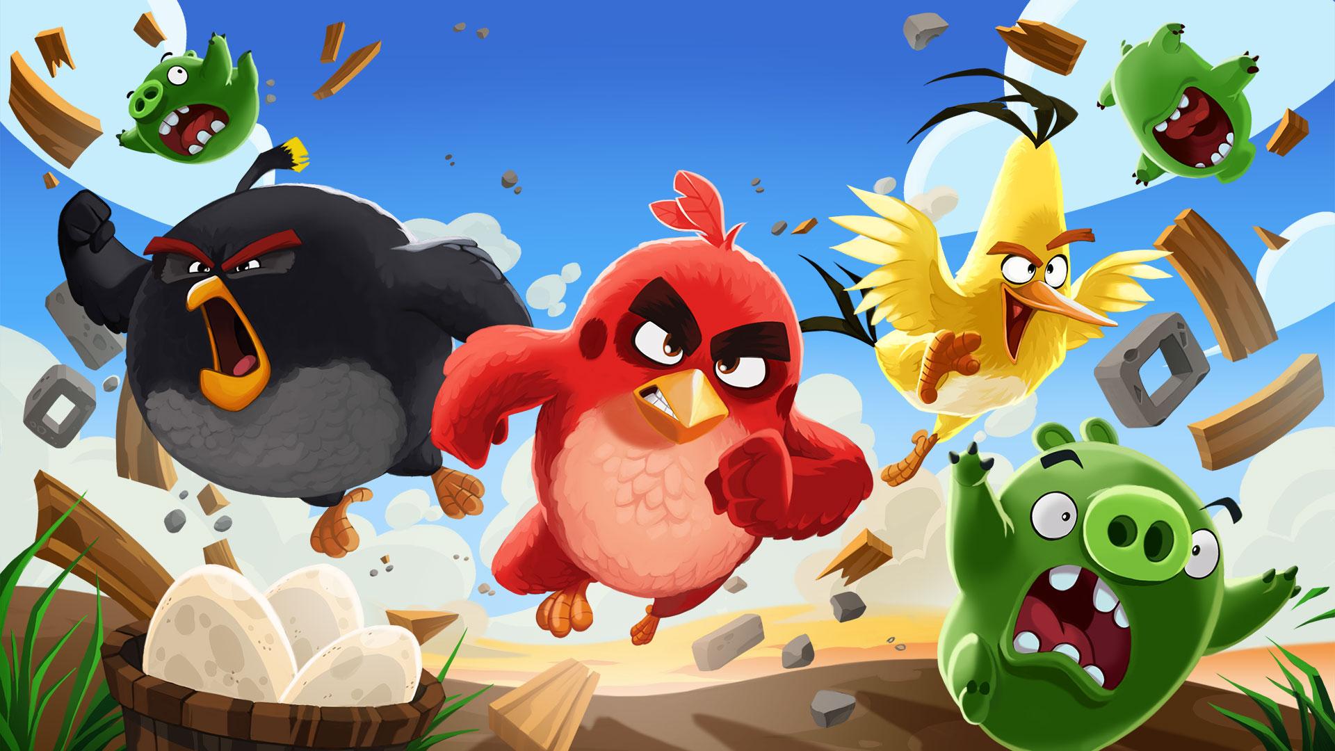 《愤怒的小鸟》将推出全新动画系列 2021年网飞播出
