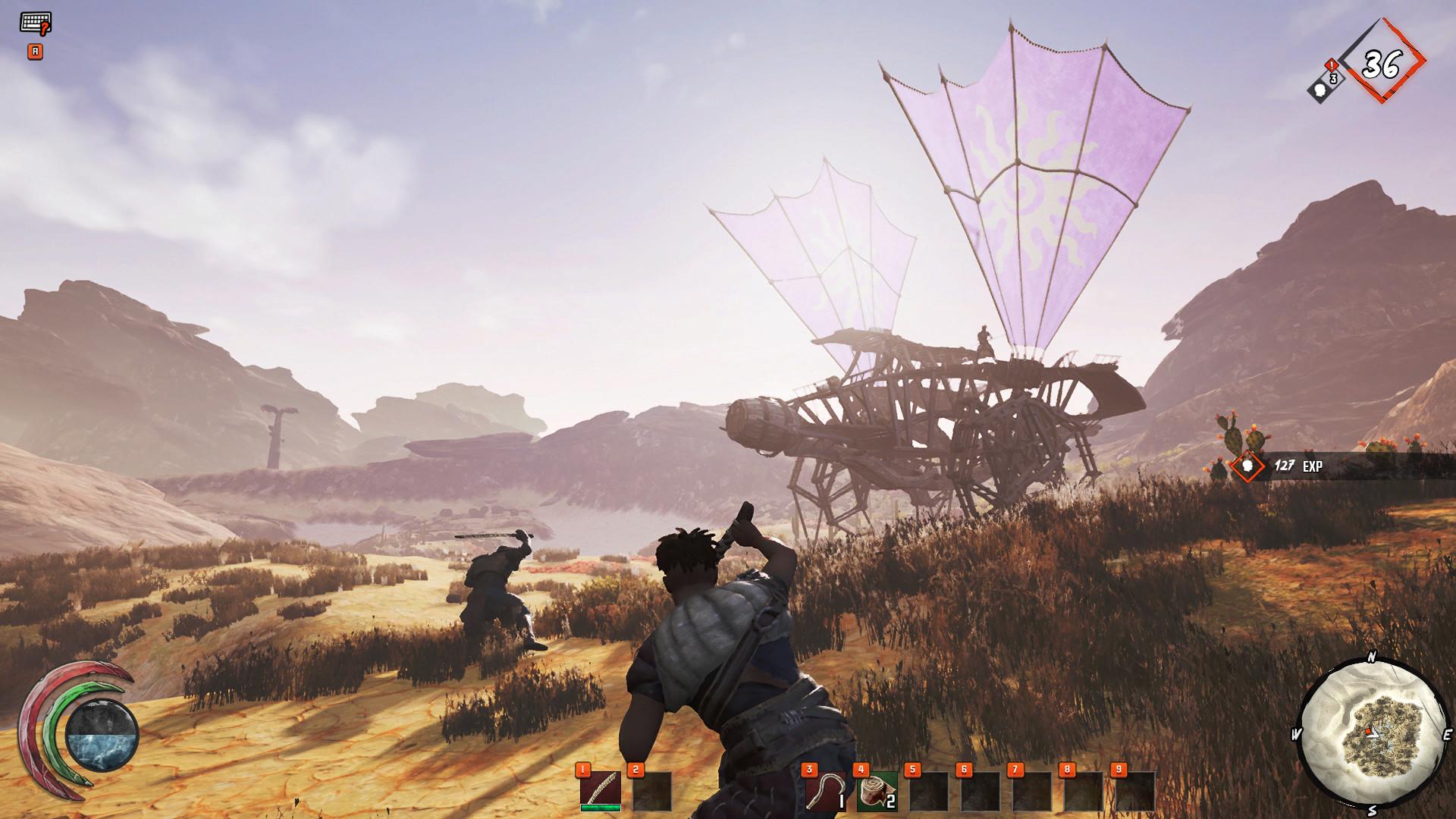 废土游牧生存类MMO《最后的绿洲》登陆Steam抢先体验 发售特惠89元