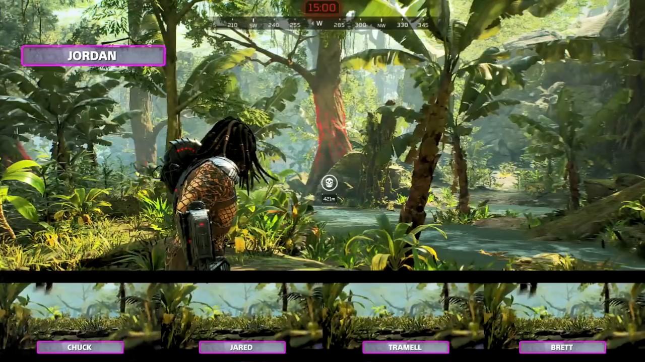 《铁血战士:狩猎场》27分钟多人模式实机演示