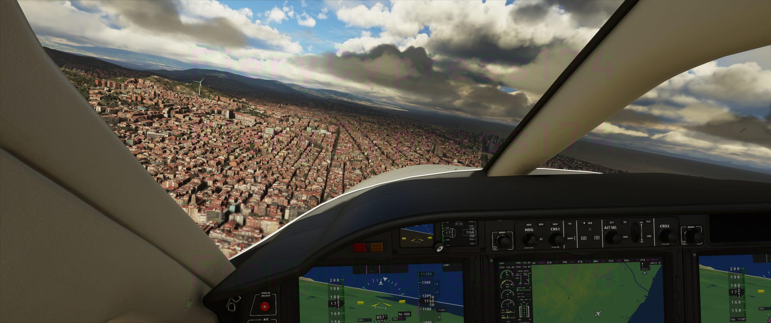 《微软飞行模拟》新截图 居家隔离拦不住放飞的