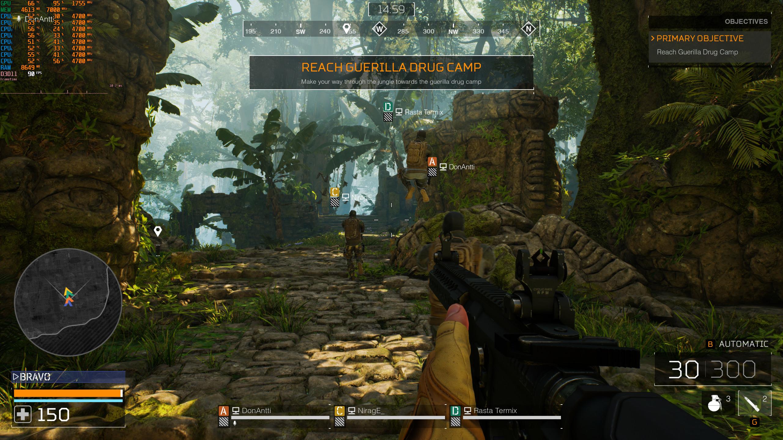 《铁血战士:狩猎场》公测进行中 PC版最高画质截图