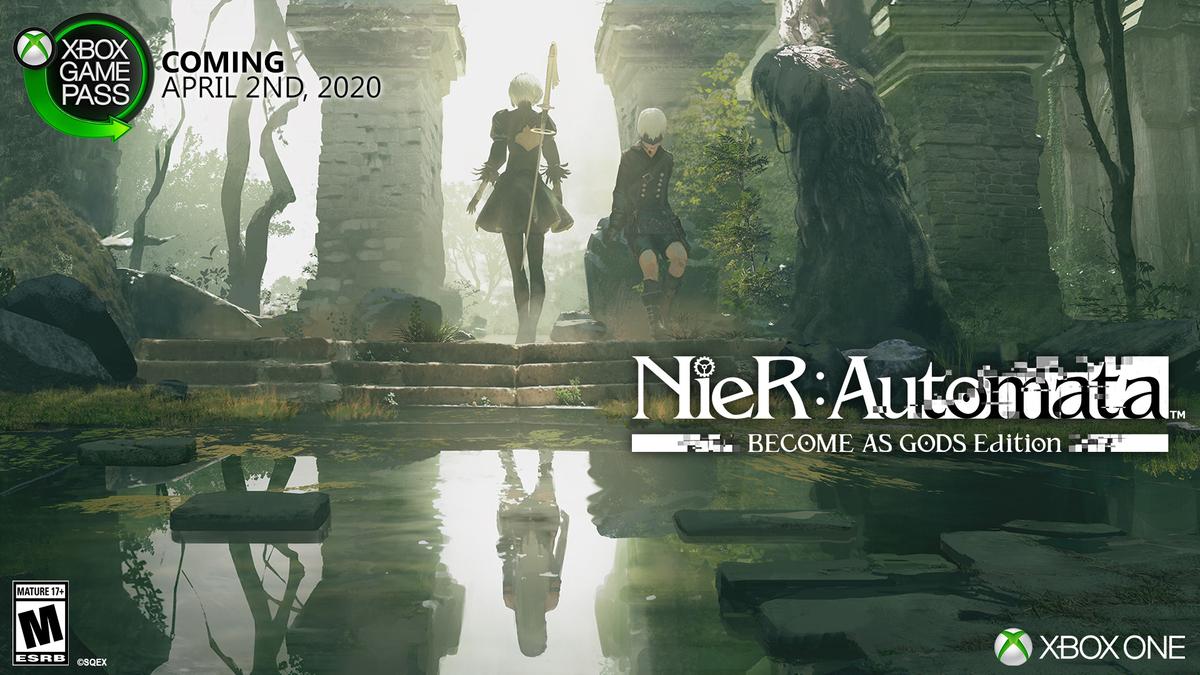 《尼尔:机械纪元》将于4月2日加入Xbox Game Pass