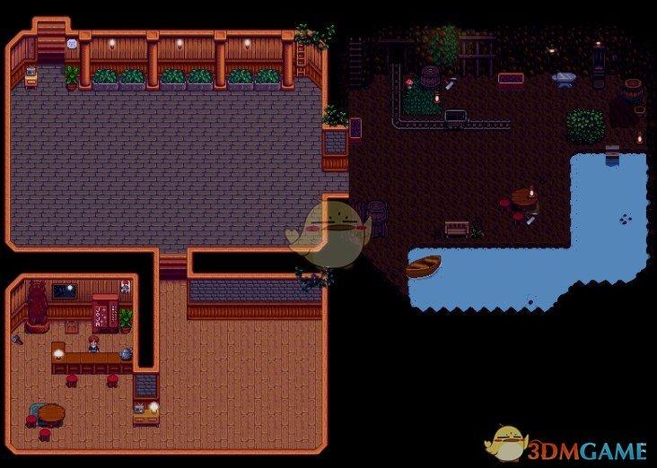 《星露谷物语》带有采矿区的地窖MOD