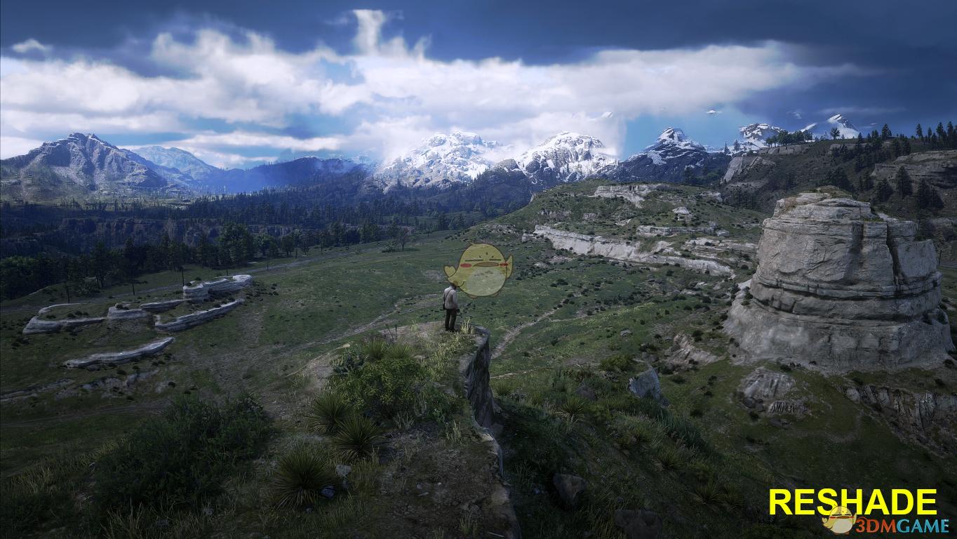 《荒野大镖客2》逼真的画质MOD